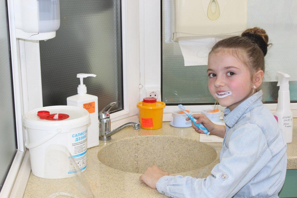 Урок на тему «Гигиена полости рта ребенка»