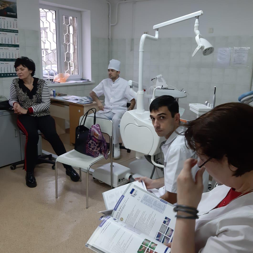 Отчет о мероприятии в Светловской городской стоматологической поликлинике
