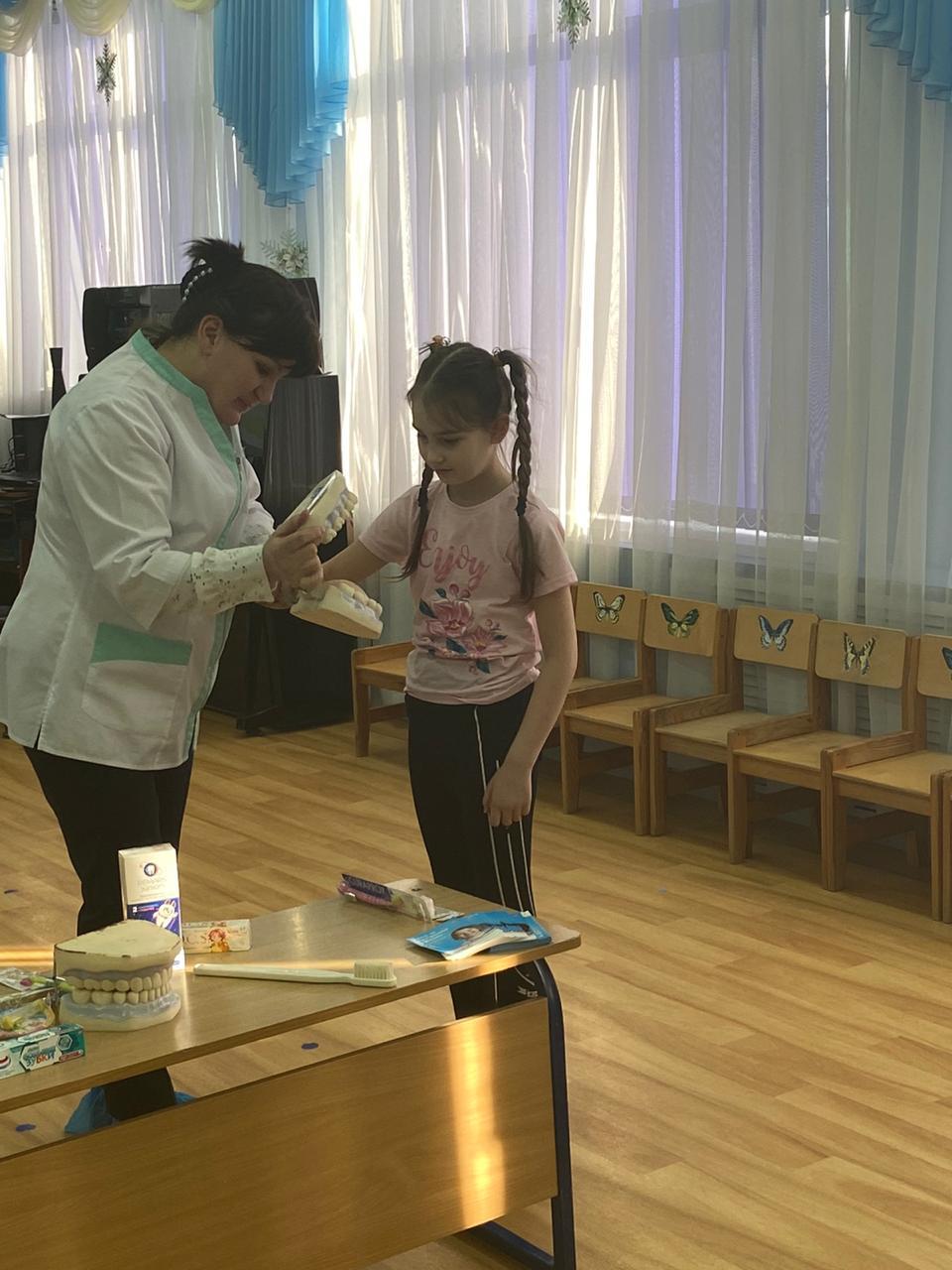 Урок гигиены в детском саду №43 г. Калининграда